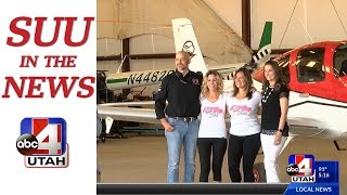 In the News: Southern Utah University Flight School working to train more female pilots, ABC 4