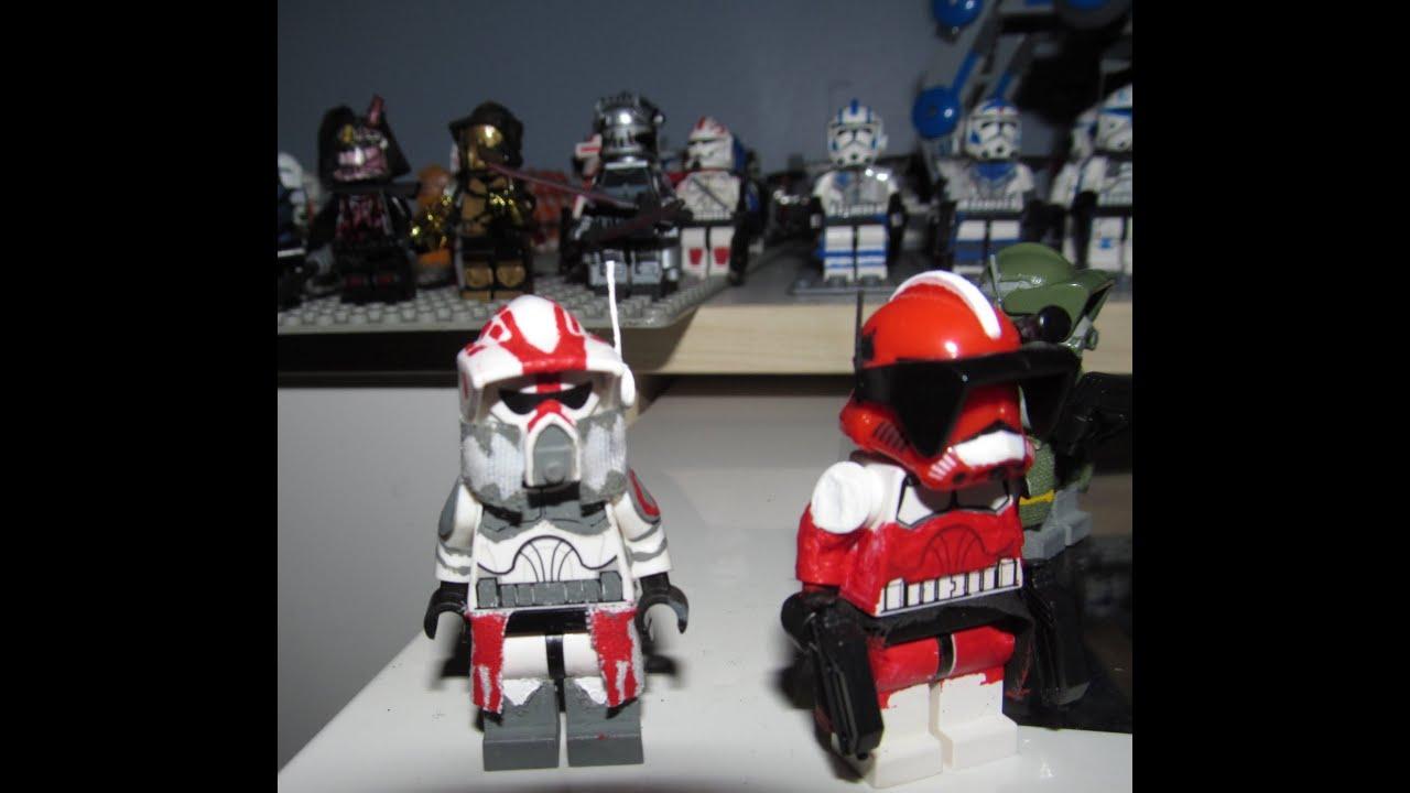 Custom Lego Clone Sergeant Hound And Other Updates Youtube