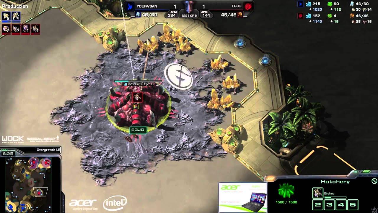 JaeDong vs. San - EG vs. FlashWolves - Game 3 - StarCraft 2