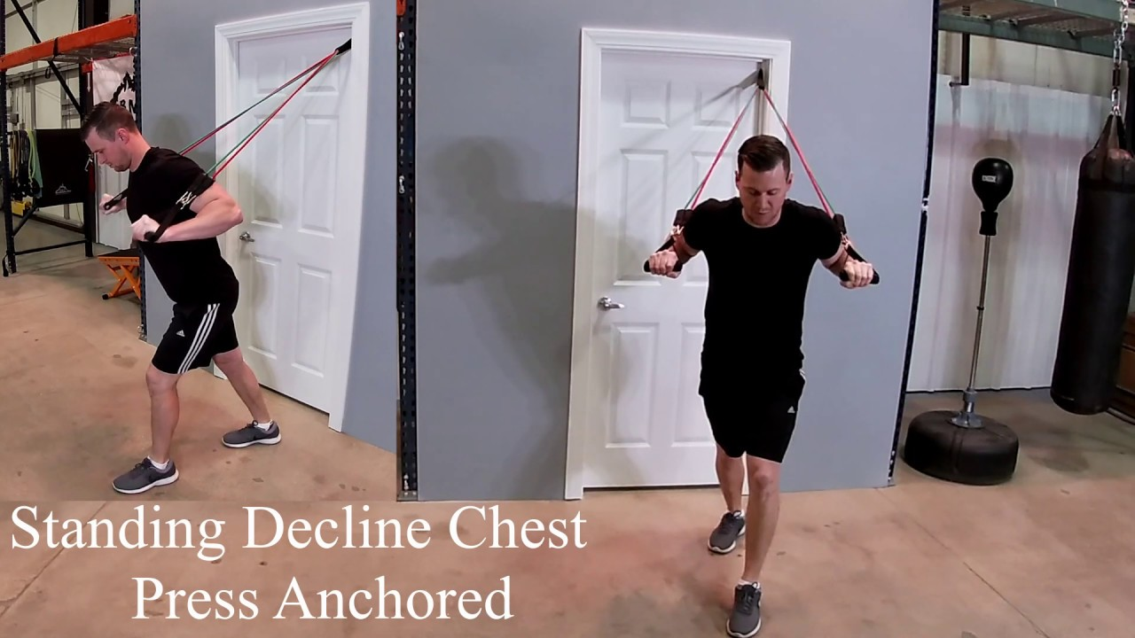 9 Best Resistance Band Chest Exercises To Do At Home Noob Gains