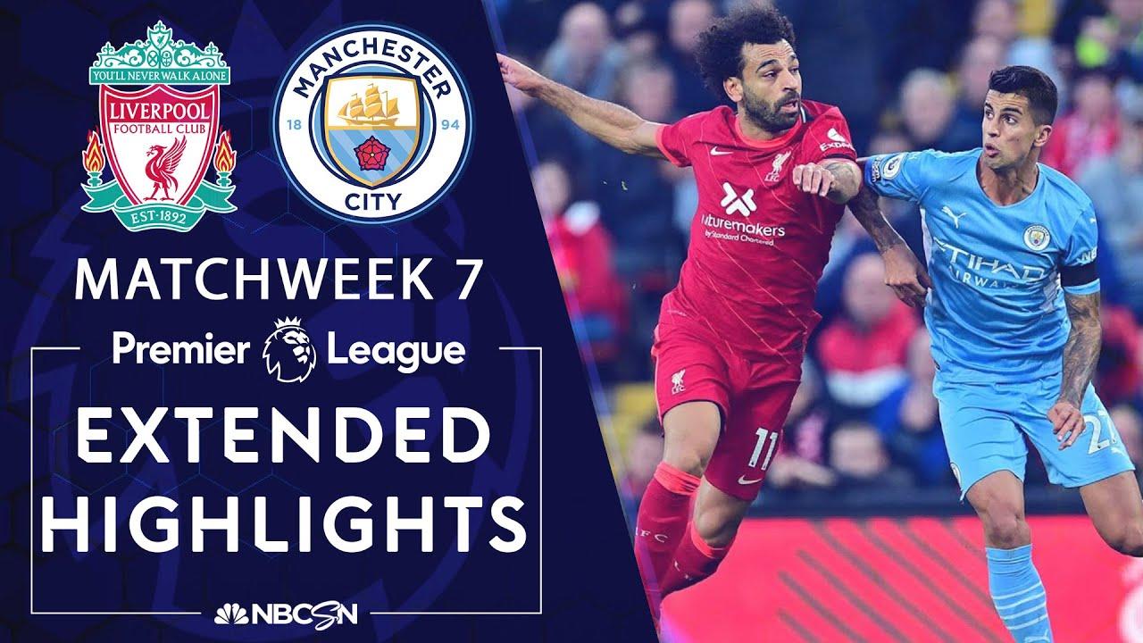 Liverpool v. Manchester City | PREMIER LEAGUE HIGHLIGHTS | 10/3/2021 | NBC Sports