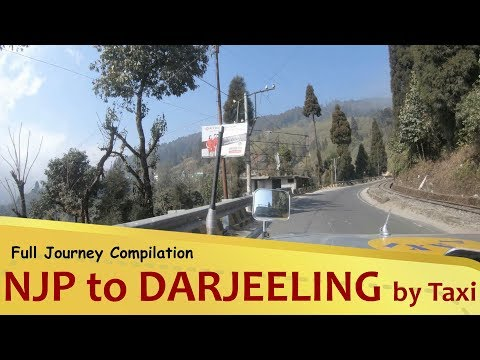 NJP to DARJEELING by Taxi via Kalimpong | Full Journey Compilation