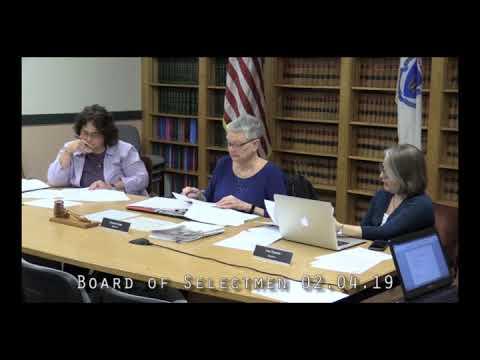 Board of Selectmen 02.04.19