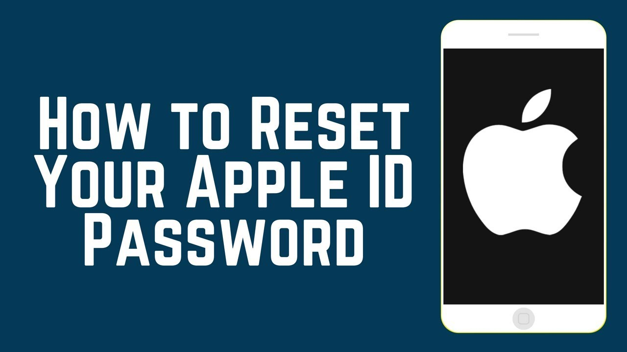 How To Reset Your Apple Id Password On Ios 2018 Youtube