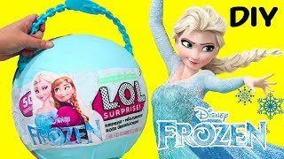 Video Yay Elsa and Anna ! Toys and Dolls Fun with *Customized* LOL Big Surprise w/ Blind Bags & Surprises download MP3, 3GP, MP4, WEBM, AVI, FLV Maret 2018