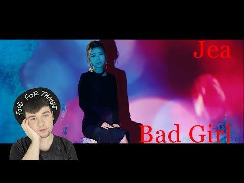 JeA(제아) ~ Bad Girl Feat. JUNG YUP MV Reaction