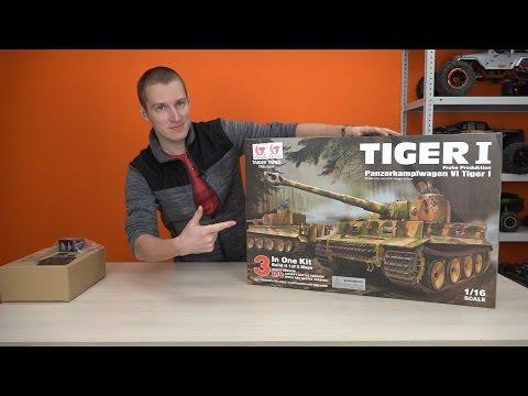 Радиоуправляемые танки, модели танков на радиоуправлении