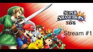 Smash Bros 3DS hangout