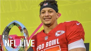 Can the Chiefs, Patrick Mahomes take down the Patriots in the AFC? | NFL Live