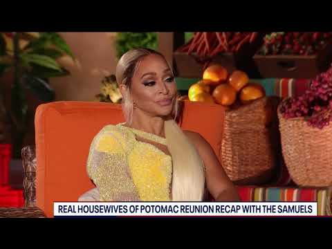 """Monique Samuels on quitting Real Housewives of Potomac: """"I'm done, I've had enough"""""""
