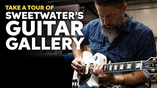 Take a Tour of Sweetwater's Guitar Gallery
