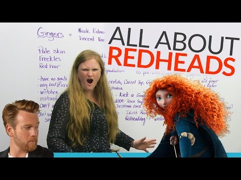 REDHEADS: Discover the world of GINGERS