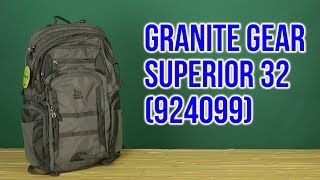 Розпакування Granite Gear Superior 32 Flint 924099