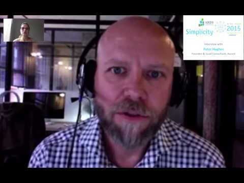 Peter Hughes UXPA 2015 interview