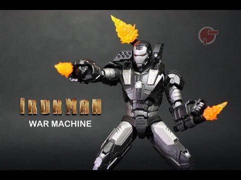 Toy Review: S.H. Figuarts War Machine (Iron Man)