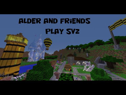Alder and Friends Play SvZ - The Purple Hills of Grapevine Vale