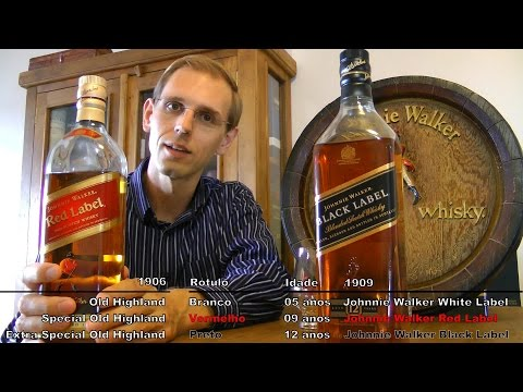 Degustando #032: Whisky Review Johnnie Walker Black Label