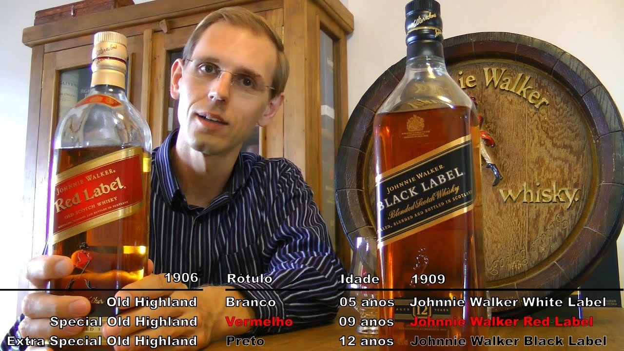 It is a graphic of Universal Black Label Red Label Difference