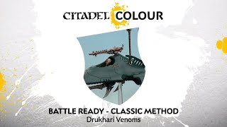 How to Paint: Drukhari Venoms – Classic Method