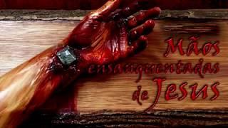 TERÇO MÃOS ENSANGUENTAS DE JESUS SANGUE DE JESUS TEM PODER