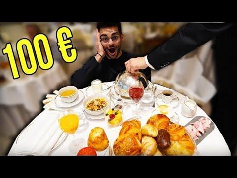 PETIT DEJEUNER À 2€ VS PETIT DEJEUNER À 100€