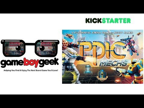 Tiny Epic Mechs Preview with the Game Boy Geek