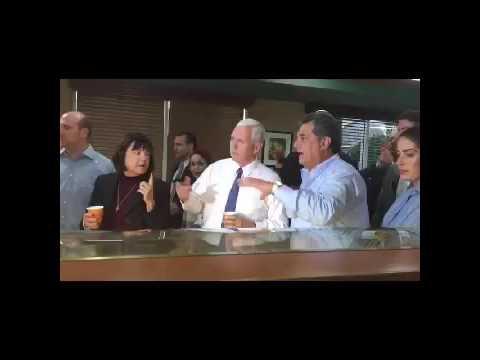 Mike Pence in 'Little Havana' Florida