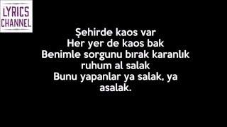 Sansar Salvo - Yazmak Lazım (Sözleri-Lyrics)