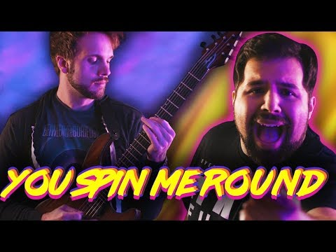 DEAD OR ALIVE - YOU SPIN ME ROUND || Metal Cover by RichaadEB & Caleb Hyles mp3