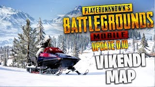 PUBG Mobile : Vikendi Map official beta gameplay😍| Playing in mobile🔥