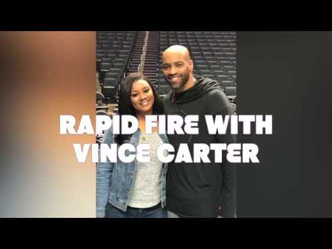 Courtside with Ashley Holder: RAPID FIRE (Kings Guard: Vince Carter)