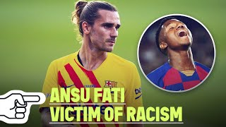 Antoine Griezmann's PERFECT reaction after Ansu Fati was the victim of racism | Oh My Goal