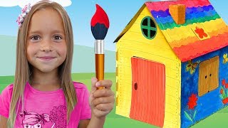 Sofia Builds Playhouses for kids, Funny video Compilation