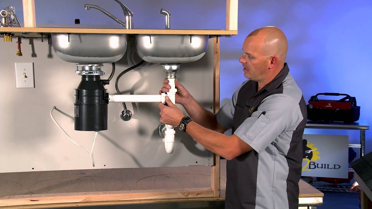 Anatomy of a Kitchen Drain - YouTube