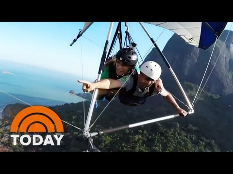 Hang Gliding Over Rio: Get A Bird's-Eye View Of Beaches, Largest Urban Forest | TODAY