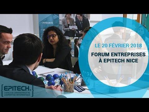 Forum entreprises à Epitech Nice