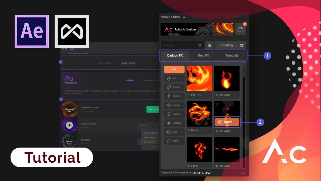 Best After Effects Tutorials | Motion Factory Plugins