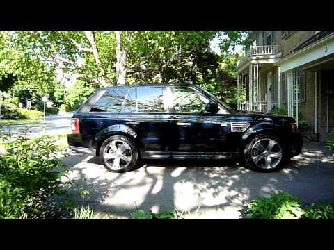 2010 Range Rover Sport  - Entry Height