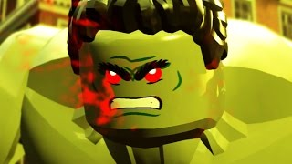 HULK vs Hulkbuster Boss Fight (LEGO Marvel Avengers) Age of Ultron HD