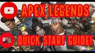 Apex Legends Definitive Quick Start Game Guide