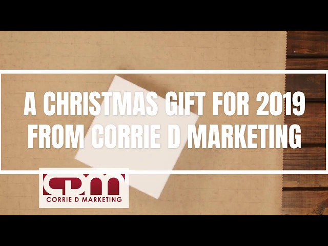 Christmas Gift 2018 From Corrie D Marketing