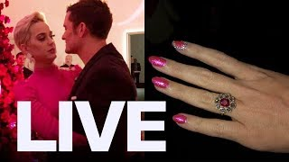 Katy Perry, Orlando Bloom Engagment Details | ET Canada LIVE