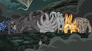 Naruto, Gaara & Bijuu`s vs. Madara (Uncut) / Ger Sub