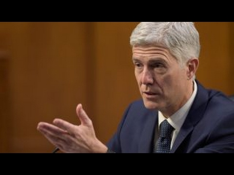 The political showdown over Gorsuch confirmation