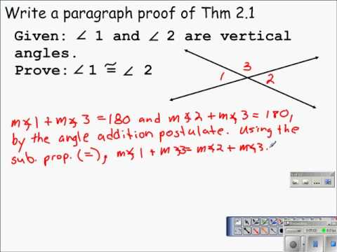 Paragraph Proofs (with worksheets, videos, games & activities)