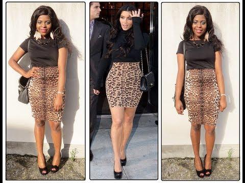 Kim Kardashian Inspired Outfit