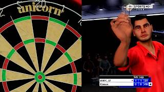 ps3 pdc world championship darts pro tour gameplay part 2 (HD QUALITY TEST)