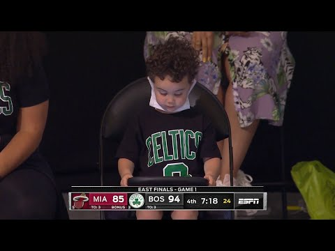 Deuce Tatum is uninterested in his dad dropping 27 on the Heat