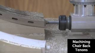 Machining Various Chair Components On A Thermwood Model 45
