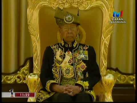 [FULL RTM] Pertabalan Agong ke-14 / 14th Malaysian King Installation 2012